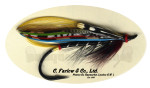 Black Doctor Salmon Fly